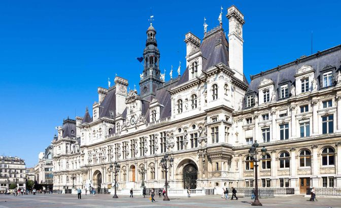 Parisian city hall